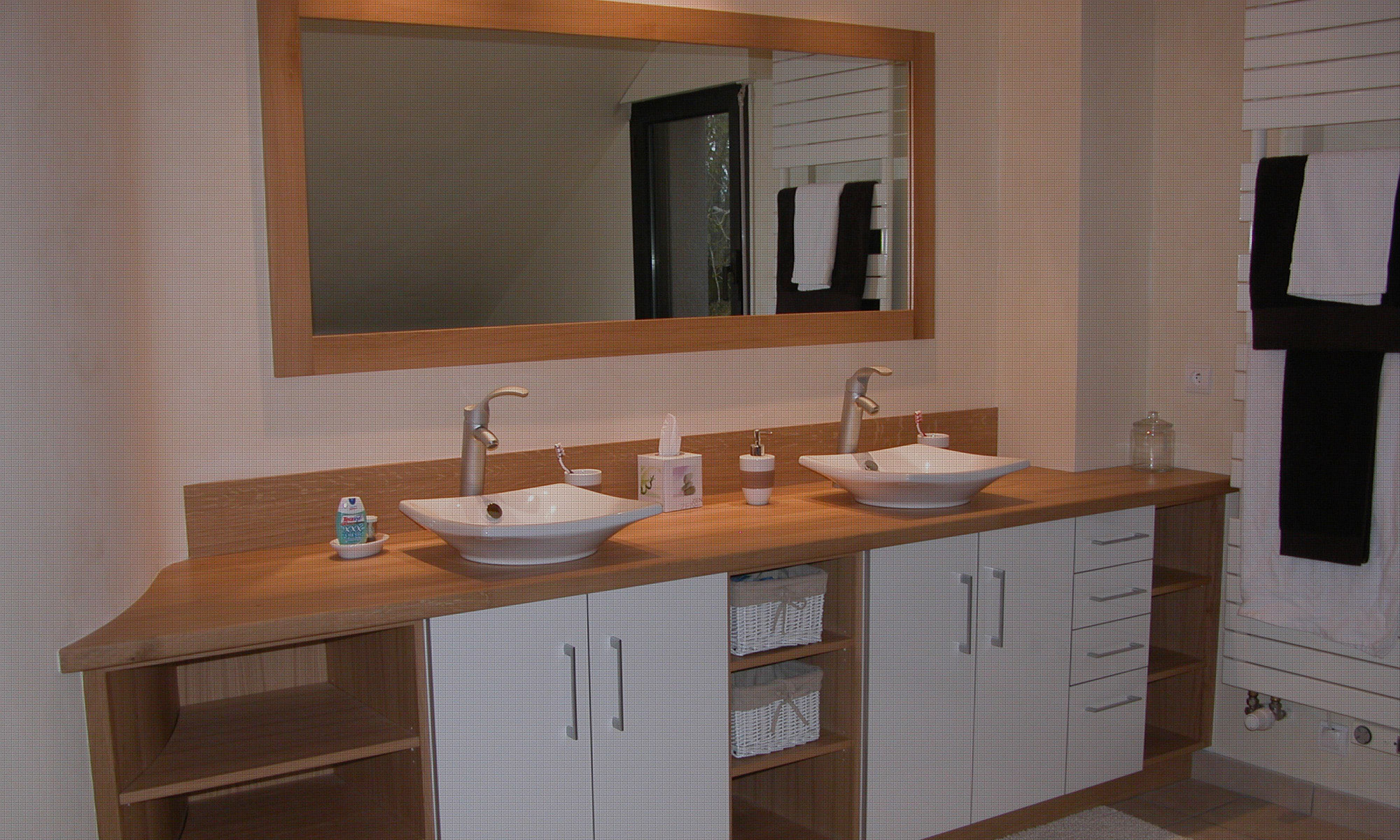 Salles de bains menuiserie artisanale